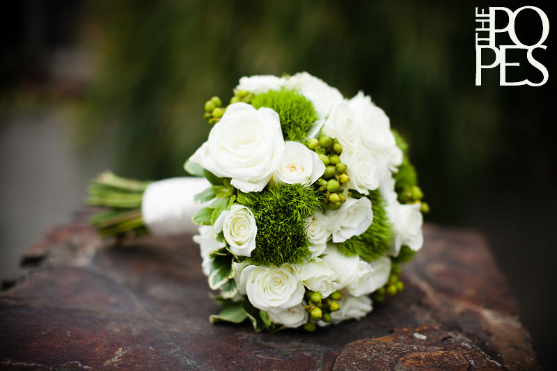 Wedding Flowers White Green : Share