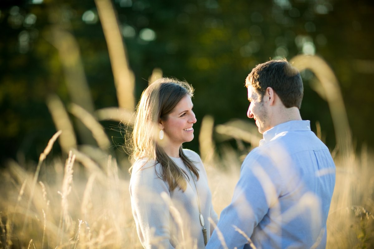 tender_look_between_newly_engaged_couple