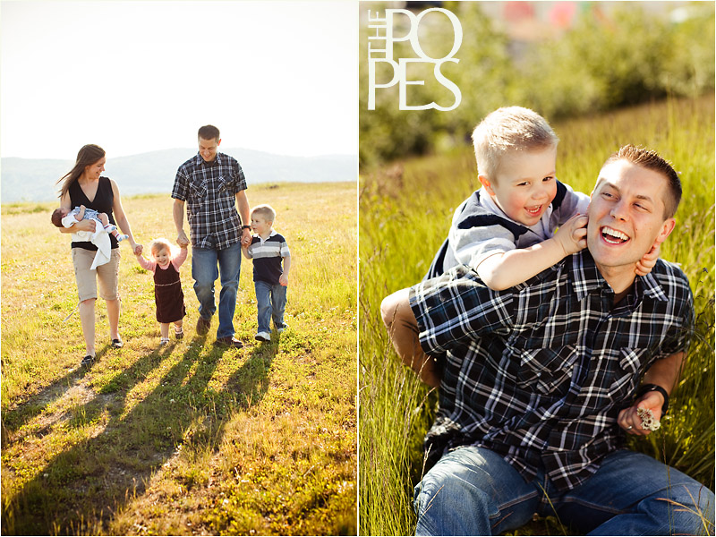 Issaquah, WA Family Portraits by the Popes Photographers
